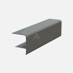 A250 drip fascia trim for GRP roofing