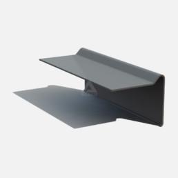 B300 raised edge trim for GRP roofing