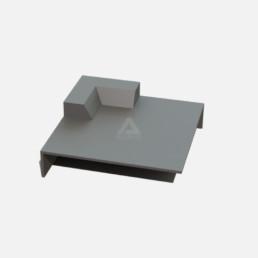 C1 external corner for GRP roofing