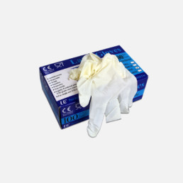 Latex disposable gloves for GRP Roofing